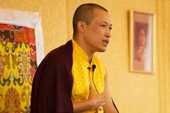 Sakyong Giving an Address
